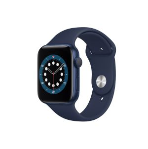APPLE WATCH SERIES 6 44mm BLUE ALUMINIUM CASE WITH SPORT BAND GPS